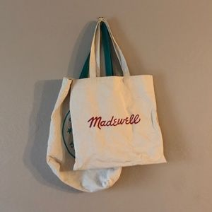 Set of Cotton Totes Zip Bags